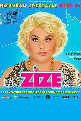 AFFICHE - ZIZE - BEST OF - NEUTRE 2020 -