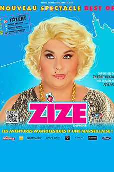 AFFICHE - ZIZE - BEST OF - NEUTRE 2020 -