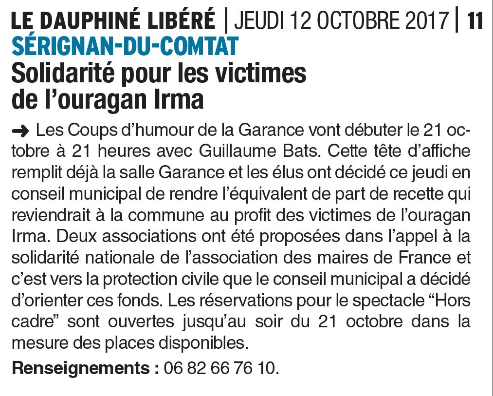 GUILLAUME BATS DAUPHINE 12 OCTOBRE