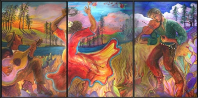 Lost Pines Triptych