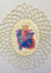 Disección (15 x 10 cms.) Técnica mixta s/cartón, 2009
