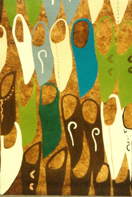 Babuchas (50 x 70 cms.) Óleo S/Tela, 1996