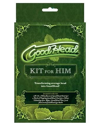 Good Head Kit for Him - Mint