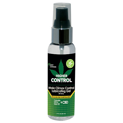 Higher Control Climax with Hemp Seed Oil
