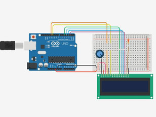 Automatic scrolling text on 16x2 LCD with Arduino