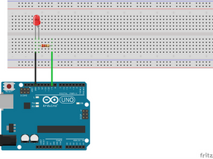 Fading Brightness of a LED using Arduino