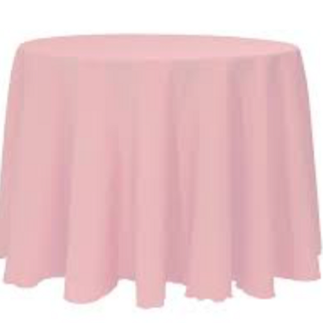 "120"" Rose Banquet Tablecloth"