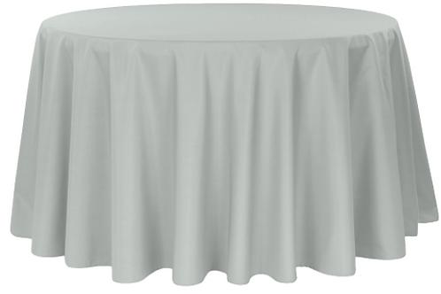 "120"" Grey Tablecloth"