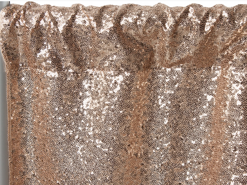 Gold Sequins Backdrop Panel