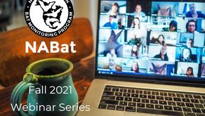 NABat Fall 2021 Virtual Training Schedule