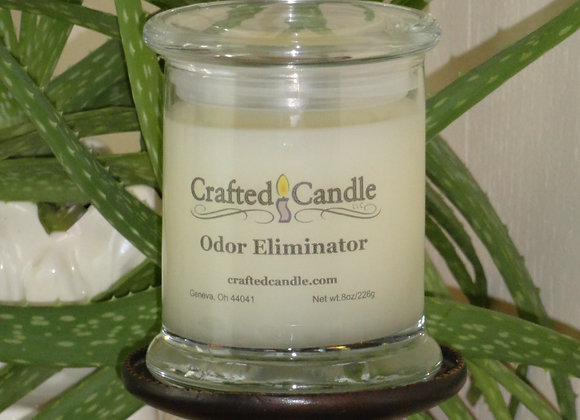 Handmade Jar Candle highly scented with odor eliminator