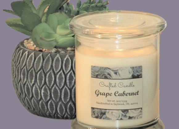 New Grape Cabernet Jar Candle