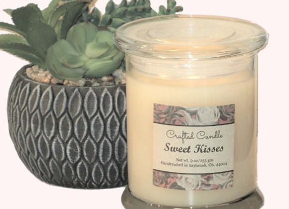 Sweet Kisses Jar Candle