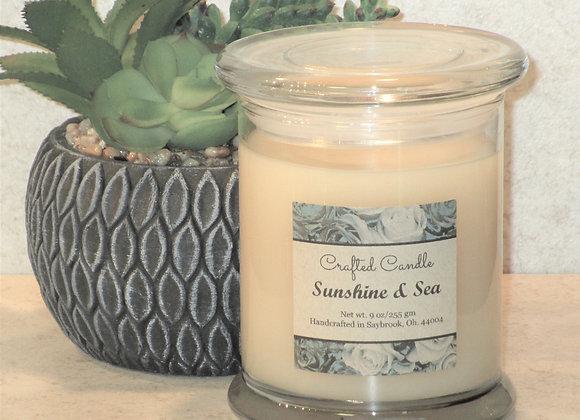 New Sunshine & Sea Jar Candle