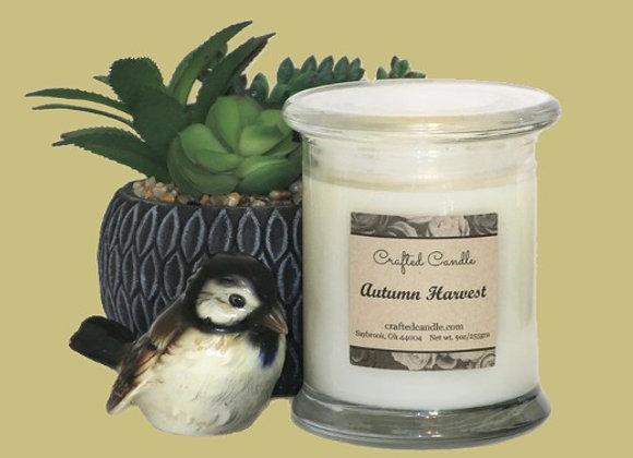 Autumn Harvest Jar Candle