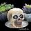 Thumbnail: Handmade Natural Skull Candle White Nectarine