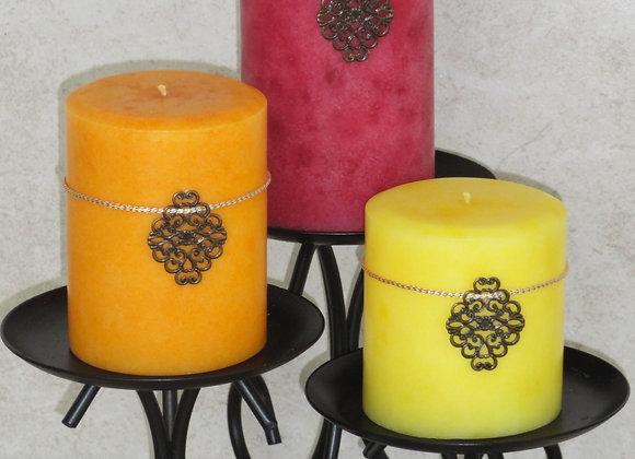 (Set of 3) Passion fruit Pillars