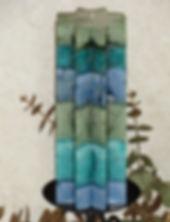 Handmade scented pillar candles