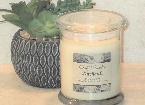 New Patchouli Jar Candle