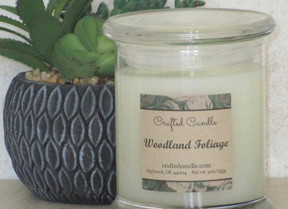 Woodland Foliage Jar Candle