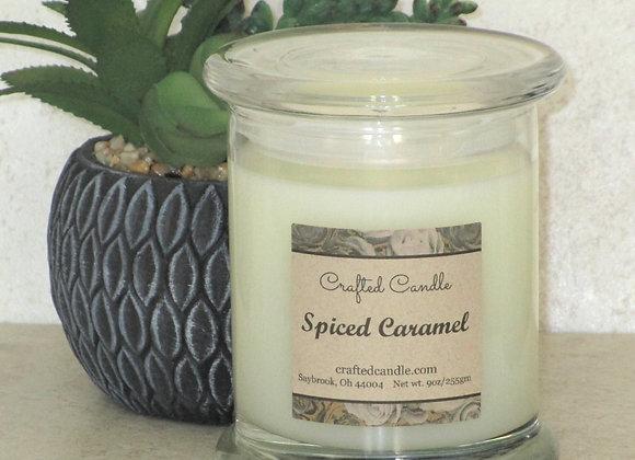 Spiced Caramel Jar Candle