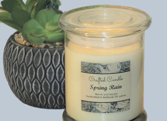 Spring Rain Jar Candle