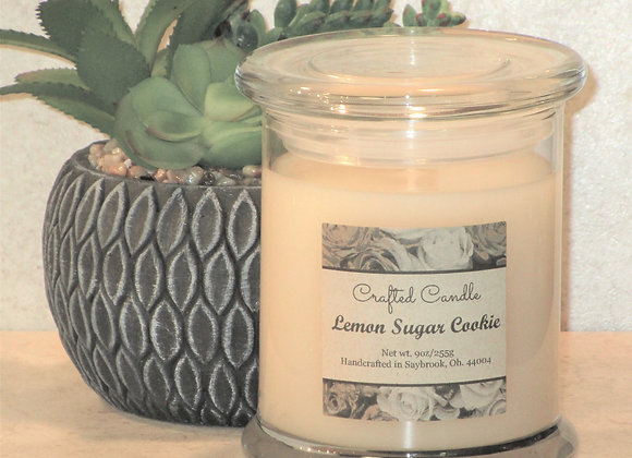New Lemon Sugar Cookie Jar Candle