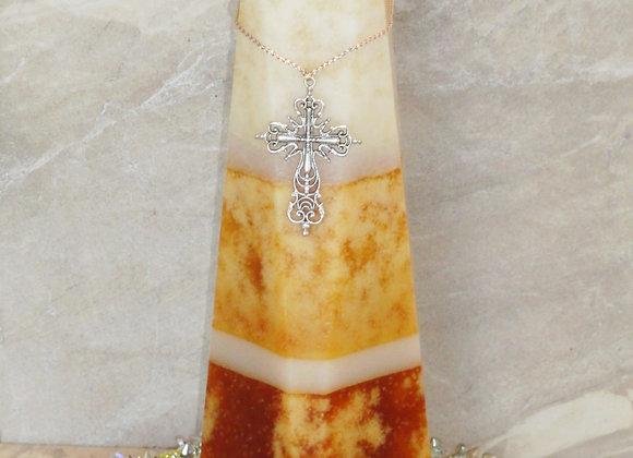 """12"""" Frankincense & Myrrh Oblique Pillar"""