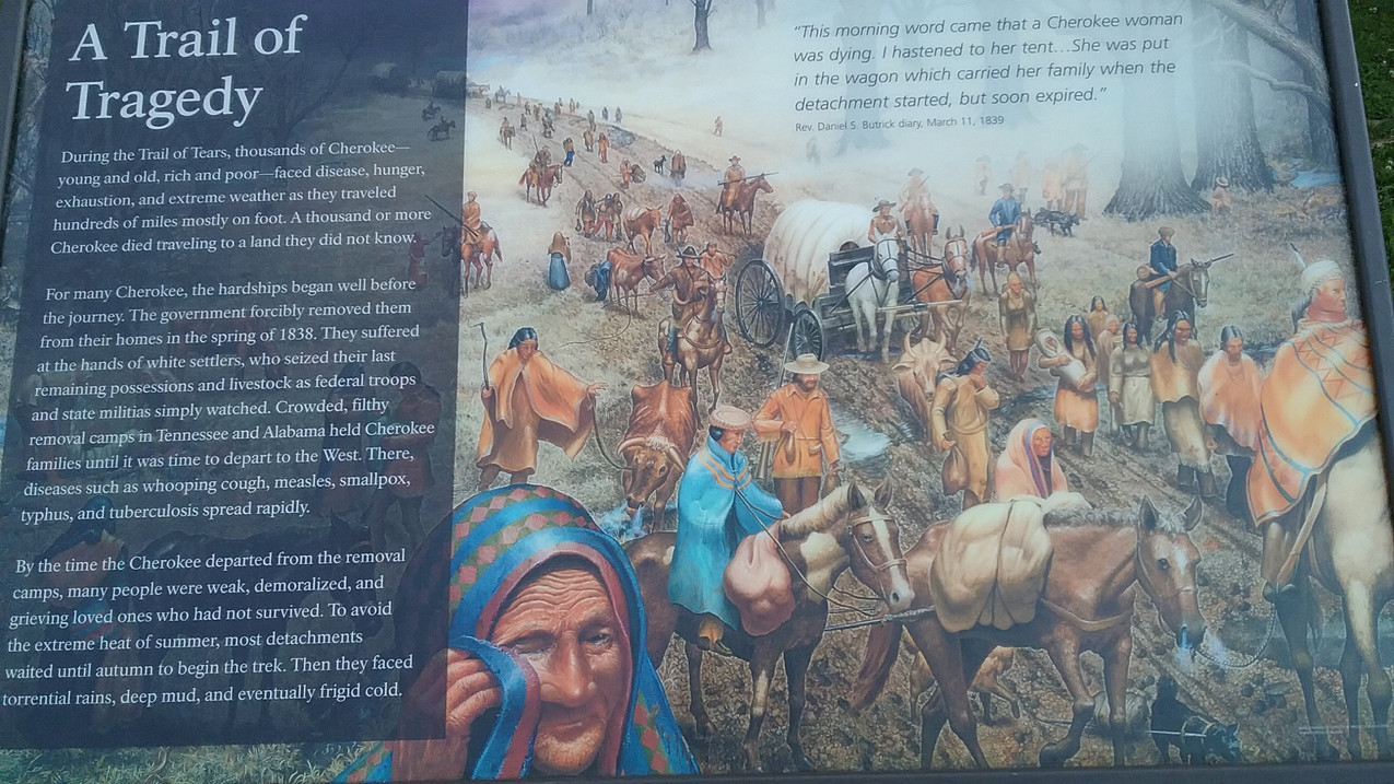 Trail of Tears Sign 3