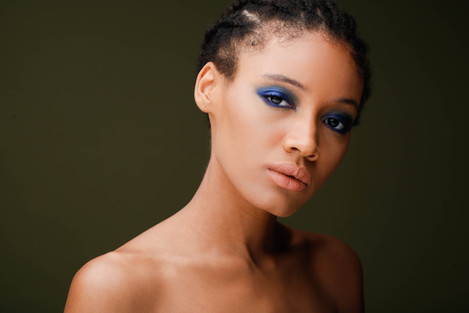 Makeup by Sehrish Chaudhary Model Olivia Richard Photo by Peter Lueders