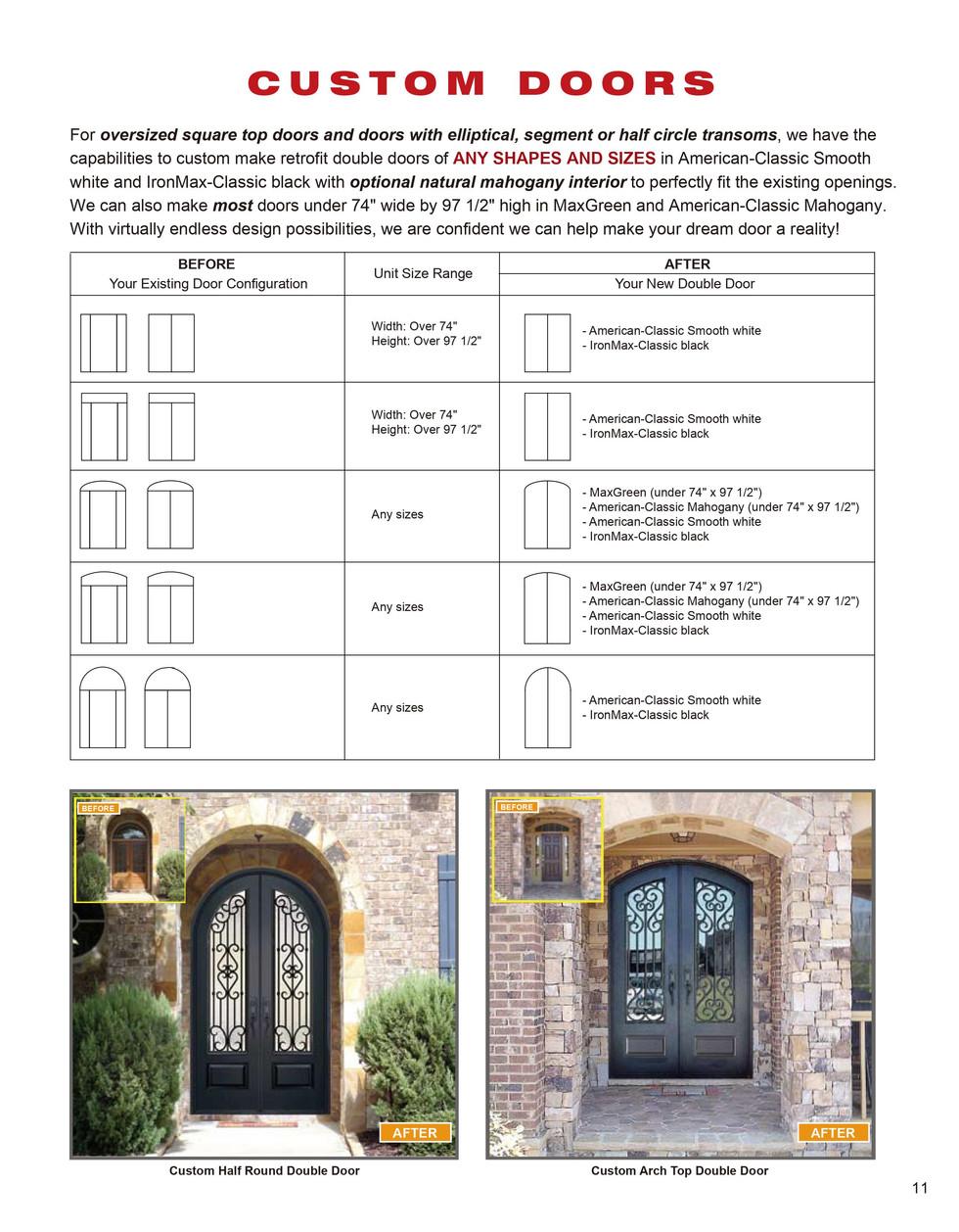 Custom Door Replacement