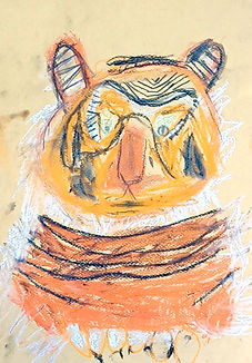 Chalk Pastel Tiger 02.jpg