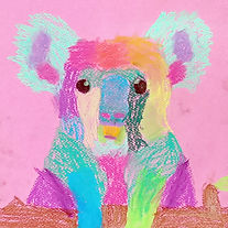 Chalk PAstel Koala 02.jpg
