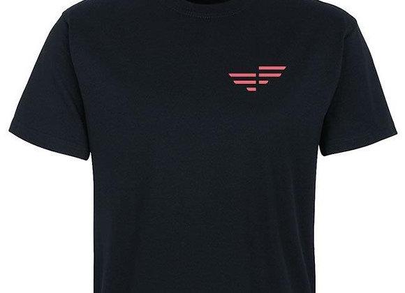 MICHAELA FIT Hakro Herren T-Shirt mit Rundhals schwarz