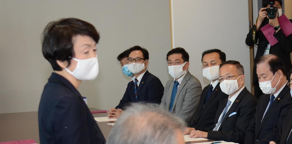 林市長へ『令和3年度横浜市予算要望書』を提出