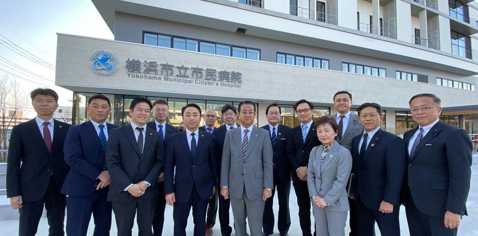 新「市民病院」を訪問(2020年3月)