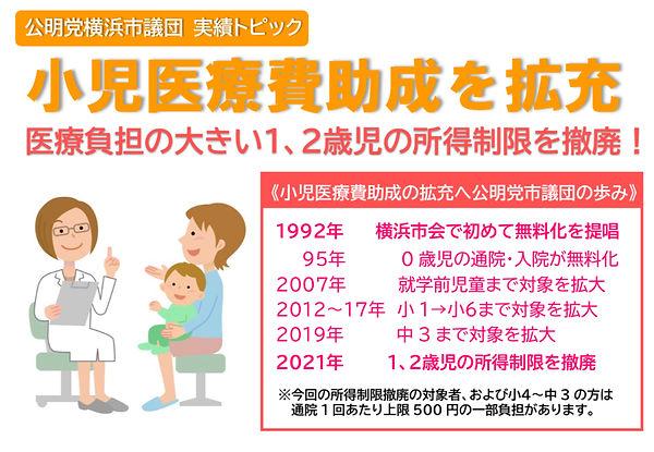 公明党横浜市会議員団の主な実績