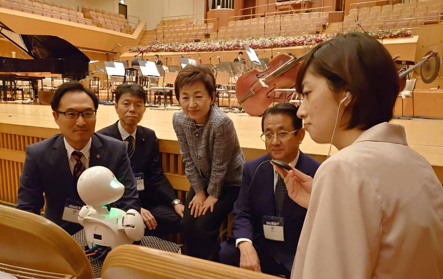 分身ロボット「ORIHIME」の視察(2019年11月)