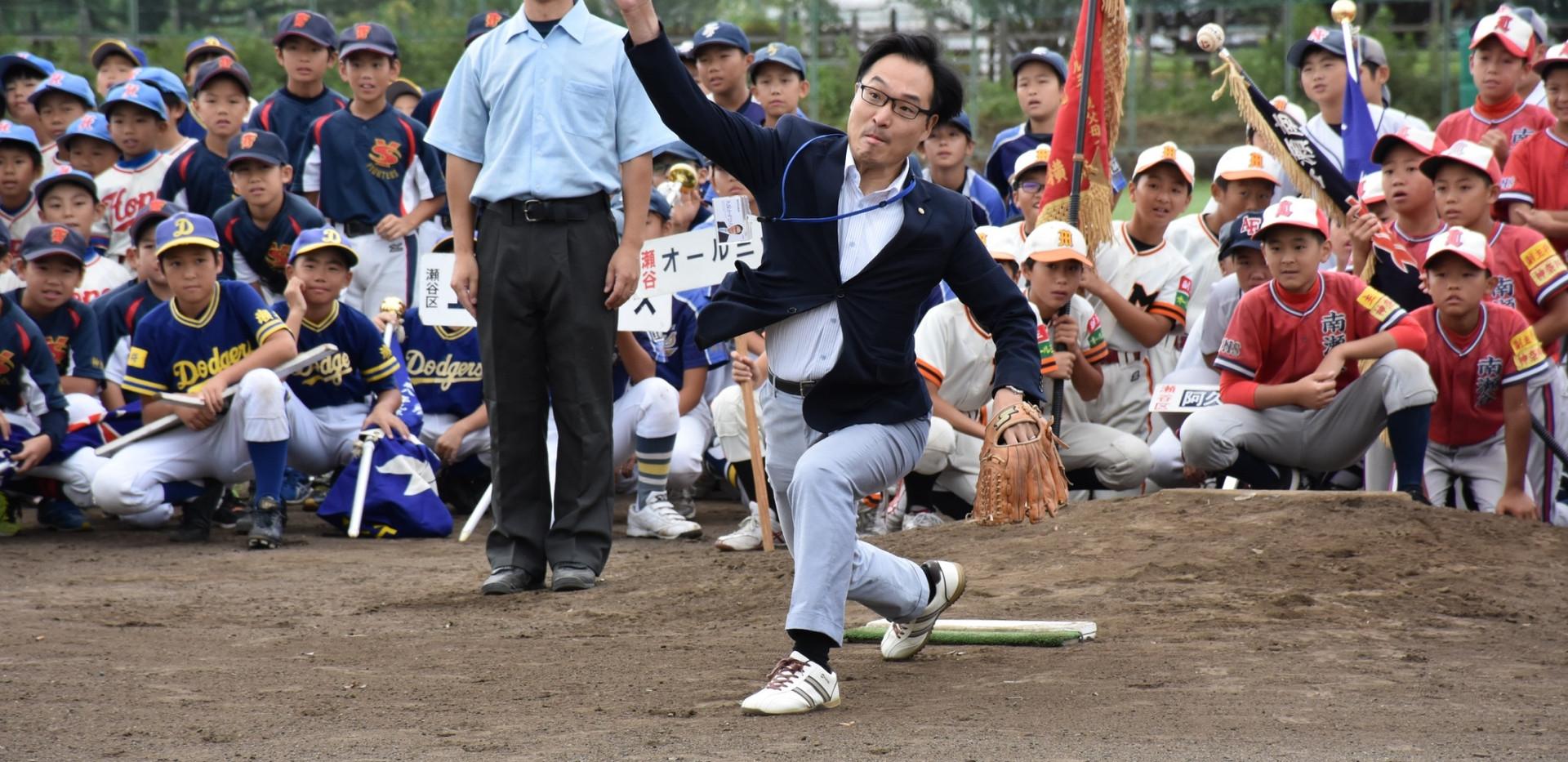 瀬谷区小学生野球連盟主催第41回秋季大会(2019年9月)