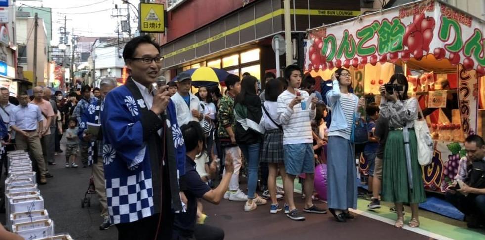 第11回七夕灯篭祭り(2019年7月)
