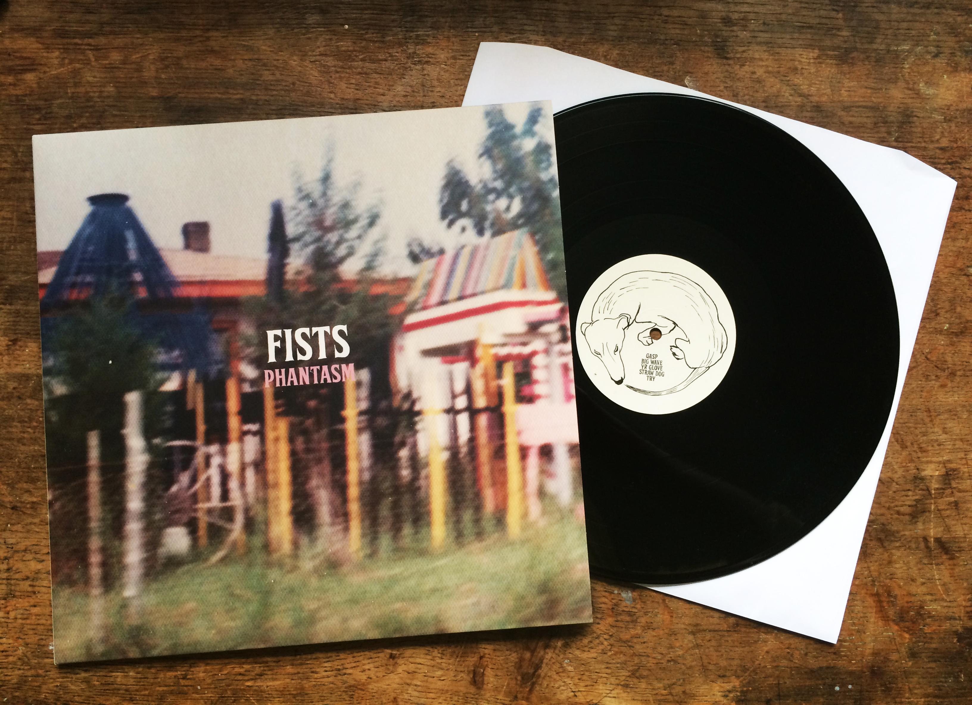 'Phantasm' Debut album by Fists