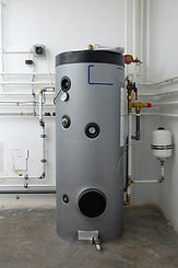 Boiler and heating system of house