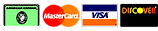 major credit card logos that high efficient heating and a/c accepts