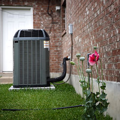 Residential Air Conditioning Outside Home Lisbon Ohio