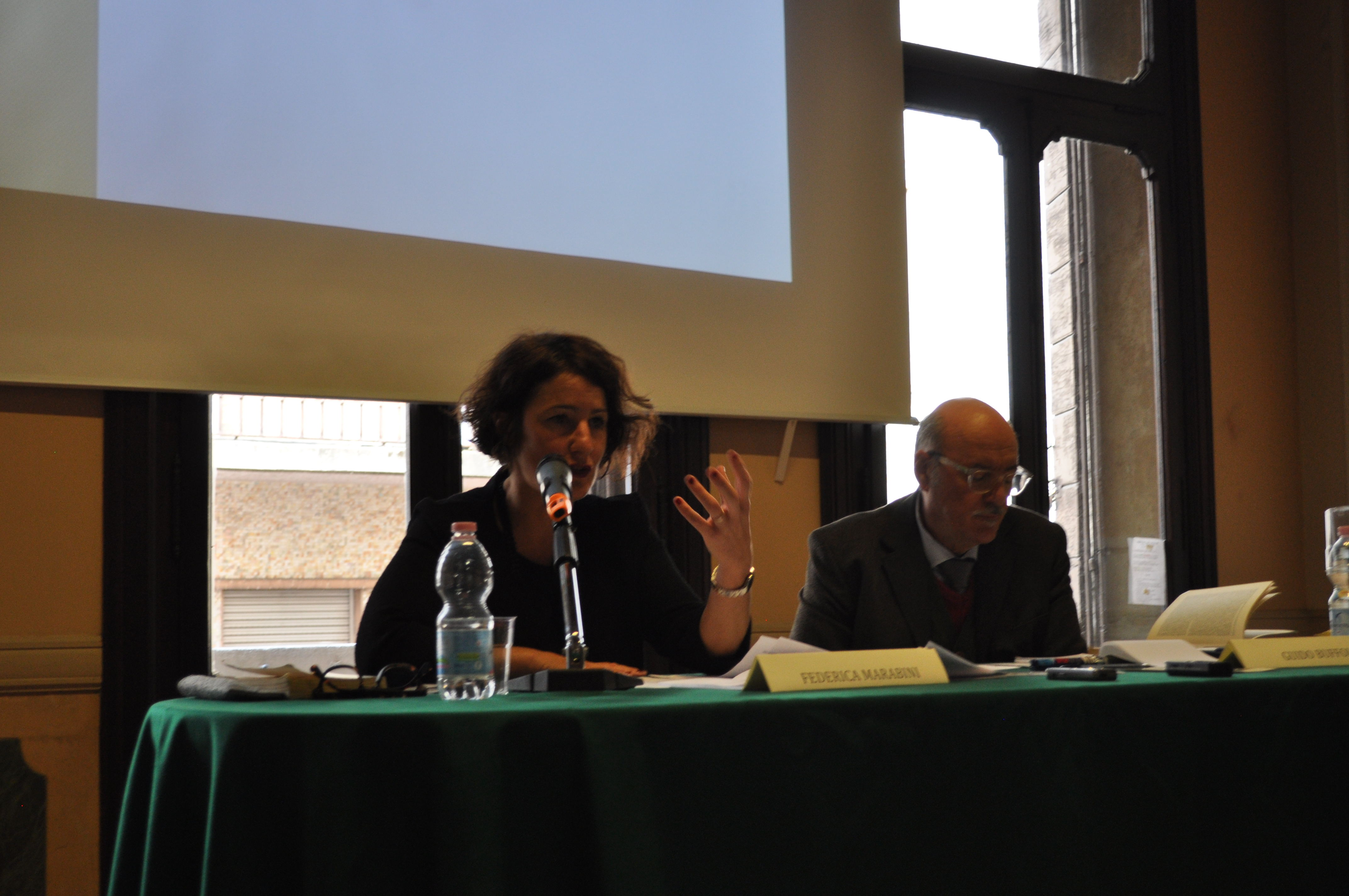 Federica Marabini e Guido Buffoli