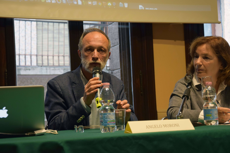 Angelo Moroni e Sonia Ferro