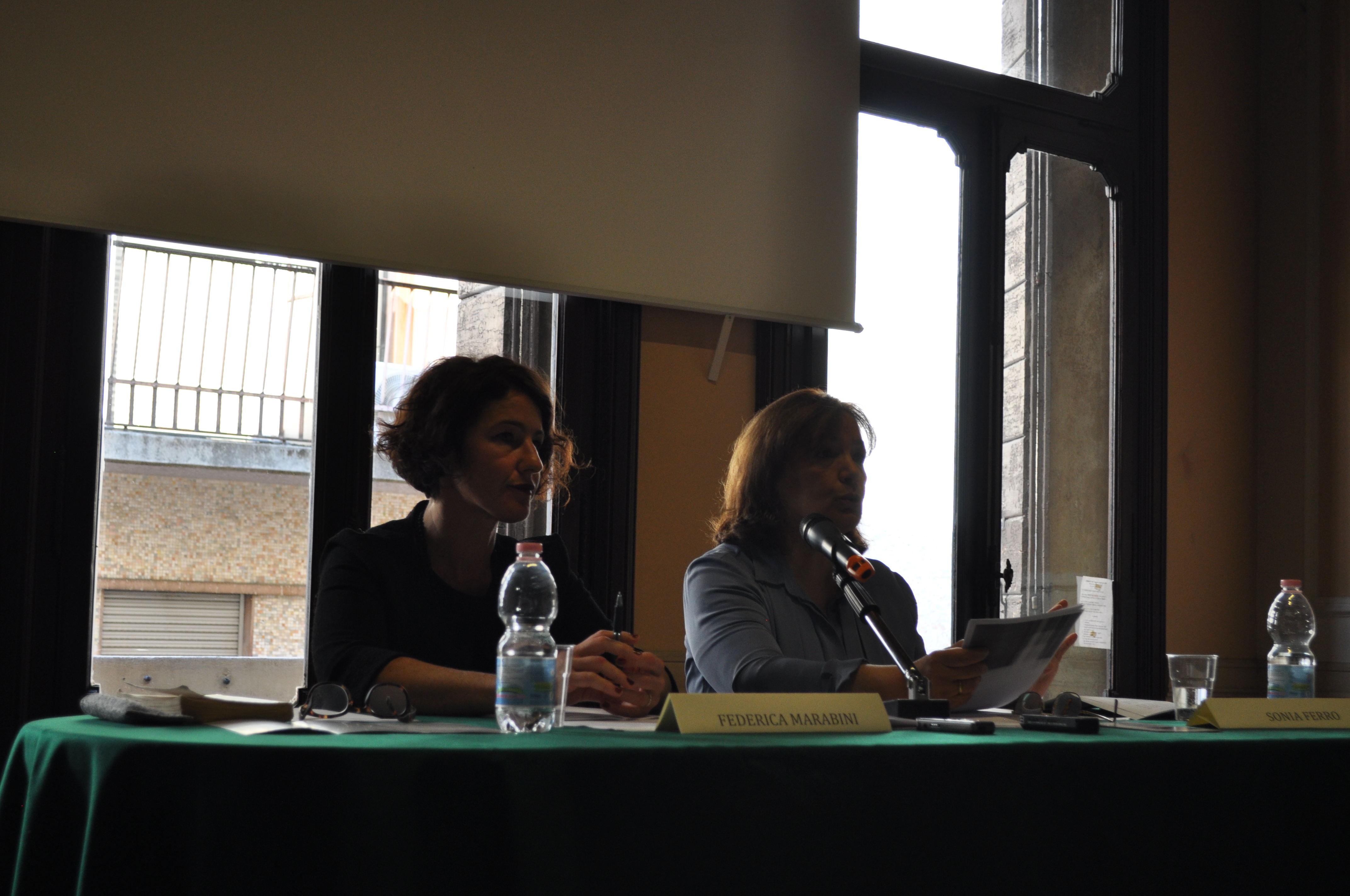 Federica Marabini e Sonia Ferro