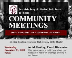 Social Hosting Panel