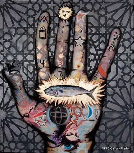 Witch craft 160x140cm huile sur toile Georgi Andonov