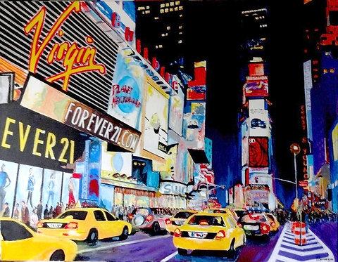 Time Square 1300x100cm